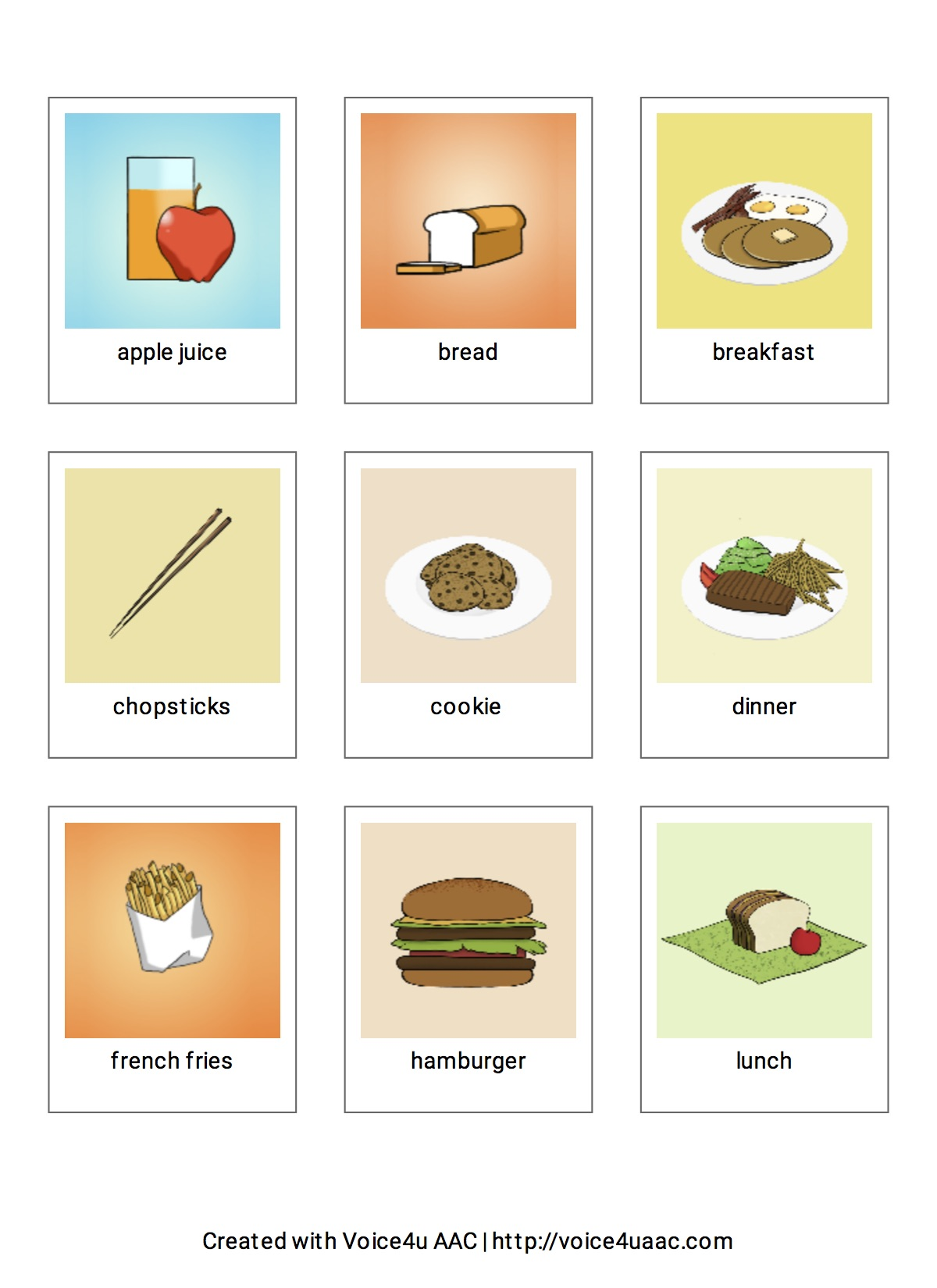 Free Sample Icons - food